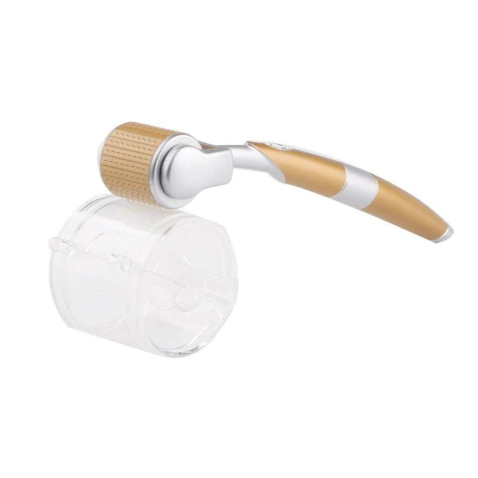 Popo 540 Jarum Mikro Titanium Derma Roller Dermaroller Jarum Mikro Kulit (Putih + 1.0 Mm