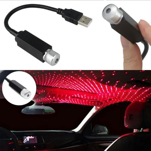 Đèn Chiếu Trần Xe Hơi Hình Ngôi Sao, Đèn Thiên Hà Dùng Trang Trí Tự Động, Có Đèn LED Tạo Bầu Không Khí Lấp Lánh Như Ánh Sao, Có Cổng USB