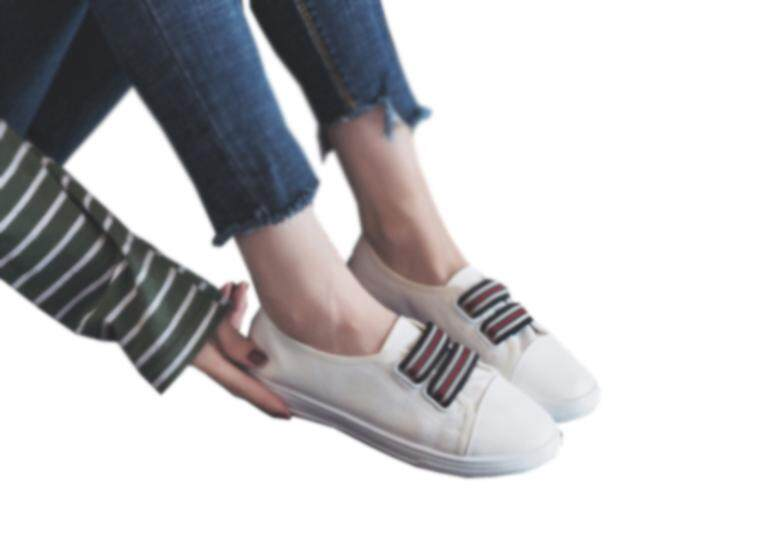 4c51ddcfa Canvas shoes wild women s shoes students a pedal lazy small black shoes flat  bottom shoes