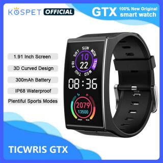 Đồng Hồ Thông Minh Nam Kospet TICWRIS GTX Mới 2021 Đồng Hồ Thể Thao Đo Huyết Áp Chống Nước Bluetooth 300MAh Tập Thể Dục Vòng Đeo Tay Cho Android IOS thumbnail
