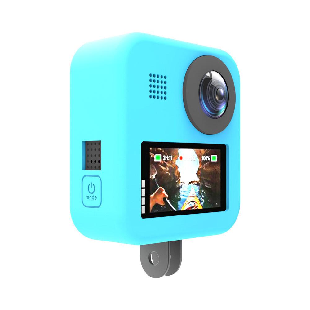Giá Bestdeal Dành Cho Gopro Max Thả 360 Độ Toàn Cảnh Camera Ốp Lưng Silicon Bảo Vệ Video Phụ Kiện Thể Thao