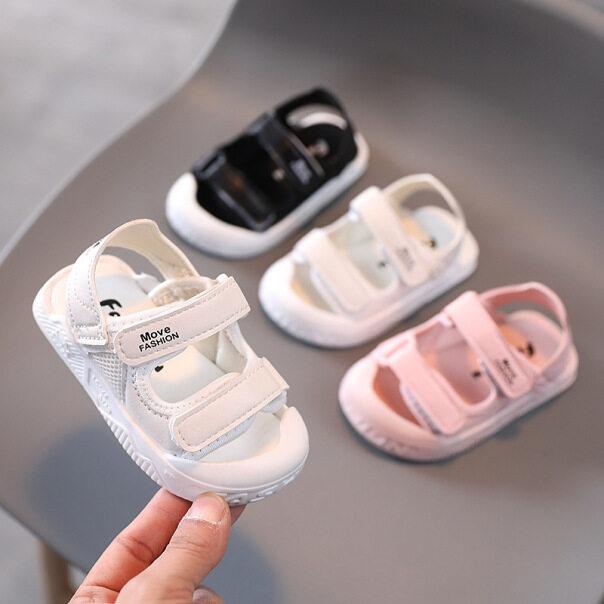 Trẻ Em Dép, Giày Đi Biển Cho Bé Trai Bé Gái Trẻ Sơ Sinh Bé Chập Chững Biết Đi Giày, 10 Tháng Thời Trang Xu Hướng Đế Mềm Chống Đá 0-1-2 Tuổi giá rẻ