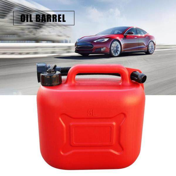 5L Fuel Tank Jerry Can Gas Diesel Petrol Oil Container Gasoline Drums Car Motorcycle Plastic Spare Petrol Tank Backup Fuel-jugs