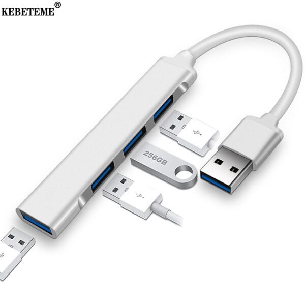 KEBETEME HUB USB C 3.0 3.1 Type C 4 Cổng Bộ Chuyển Đổi USB 3.0 OTG Cho Máy Tính Để Bàn Máy Tính Xách Tay