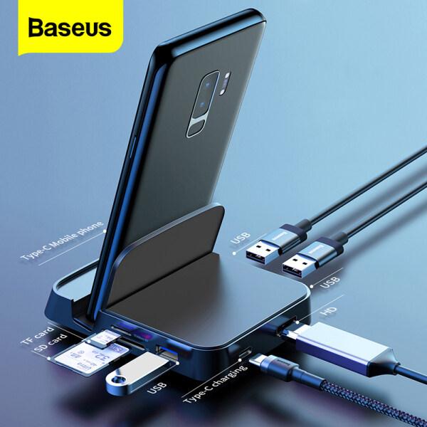 Bảng giá Đế Cắm HUB Baseus Type C, Cho Trạm Pad Samsung S20 S10 Dex Bộ Chuyển Đổi Nguồn USB C Sang HDMI Đối Với Huawei P30 Phong Vũ
