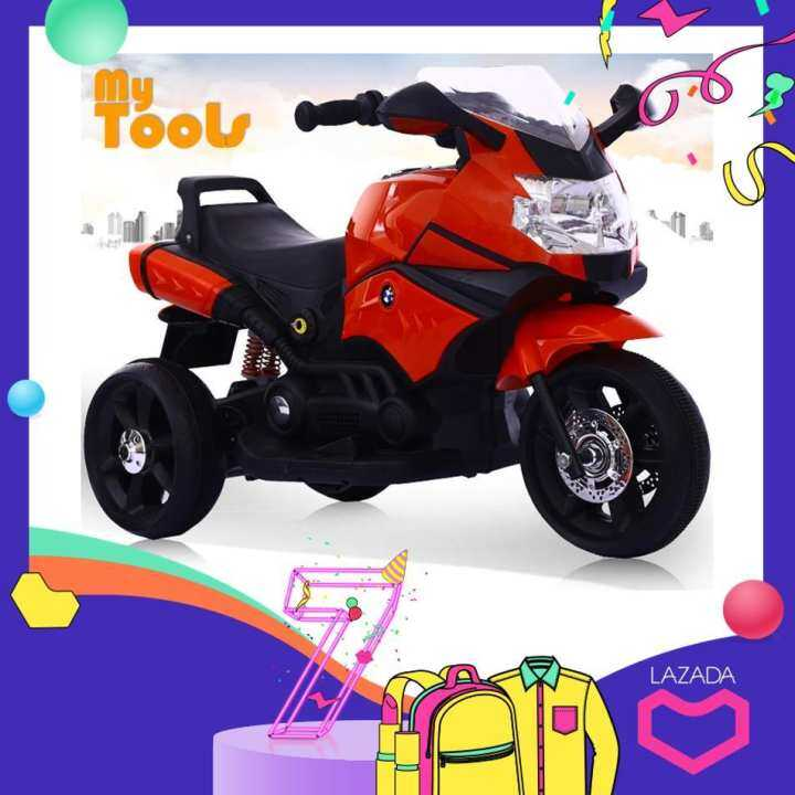 Review Bmw Kids 6v Battery Electric Super Bike With