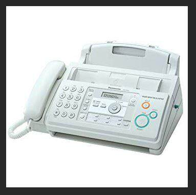 Panasonic Kx-Fp701ml Plain Paper Fax Machine (white) By Contech Computer.
