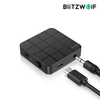 BW-BL2 BlitzWolf Máy Phát Bluetooth 5.0 Di Động 2 Trong 1 Bộ Chuyển Đổi Không Dây Tiêu Thụ Điện Năng Thấp thumbnail