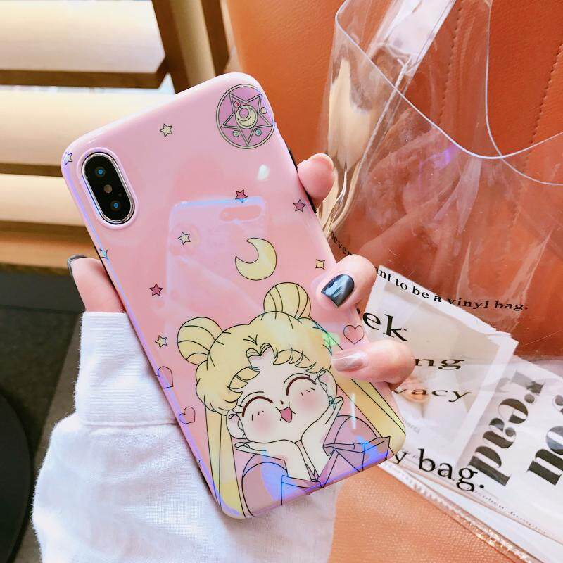 52a89a77163 Luxury Silicone Case for Apple iPhone 6 / 6s Fashion Sailor Moon Soft Phone  TPU Cover