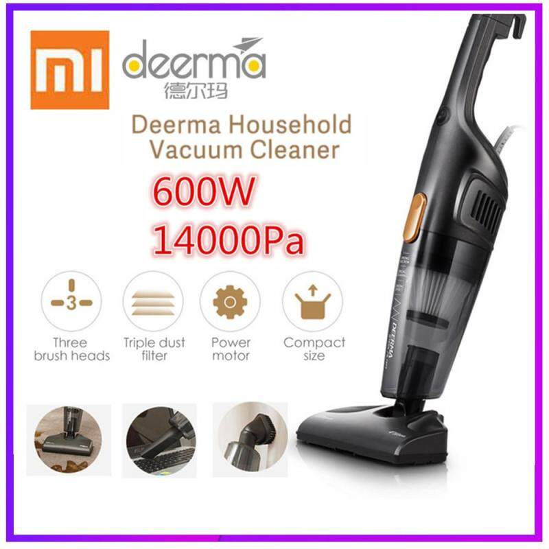 2019 Xiao mi Deerma 2 in 1 Portable Handheld Vacuum Cleaner Household Silent Vacuum Cleaner Strong Suction Home Aspirator Dust Collector Singapore