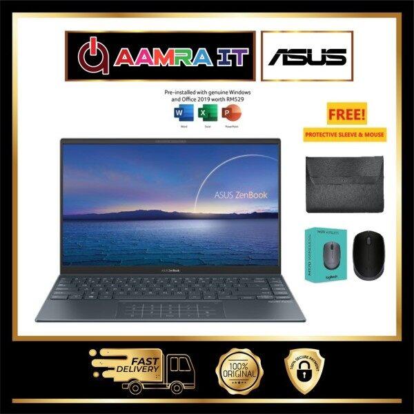 ASUS ZENBOOK  UX325E-AEG070TS (I7-1165G7, 8GB, 512 GB SSD, INTEL UHD, GREY W10) Malaysia