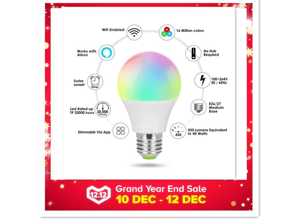 Light Bulbs For Sale Led Prices Brands Review In Bulb Switch And Your Copy Or Graphic Complete A Circuit Jnansmart Ball Lamp Wifi Remote Control E27 White Alexa