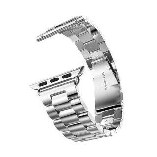 Dây Đeo Sang Trọng Cho Apple Watch Band Dây Đeo IWatch 44Mm 40Mm, Vòng Đeo Tay Dây Đồng Hồ Thép Không Gỉ 38Mm 42Mm Apple Loạt Đồng Hồ 3 5 SE 6 thumbnail