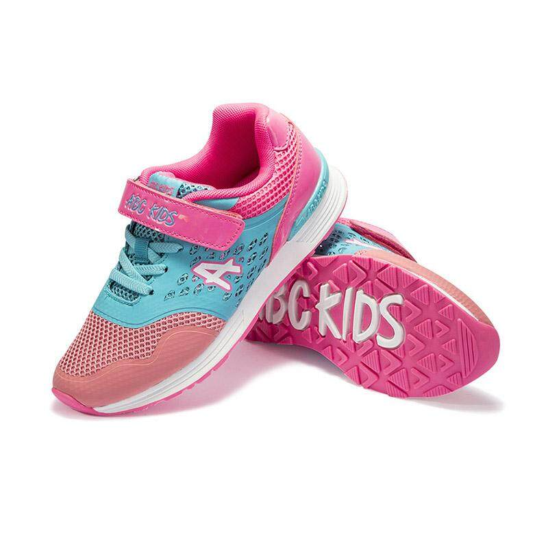 e5146b04b2bf4 ABC KIDS Summer Girl Breathable Anti-Slip Mixed Color Casual Sneakers