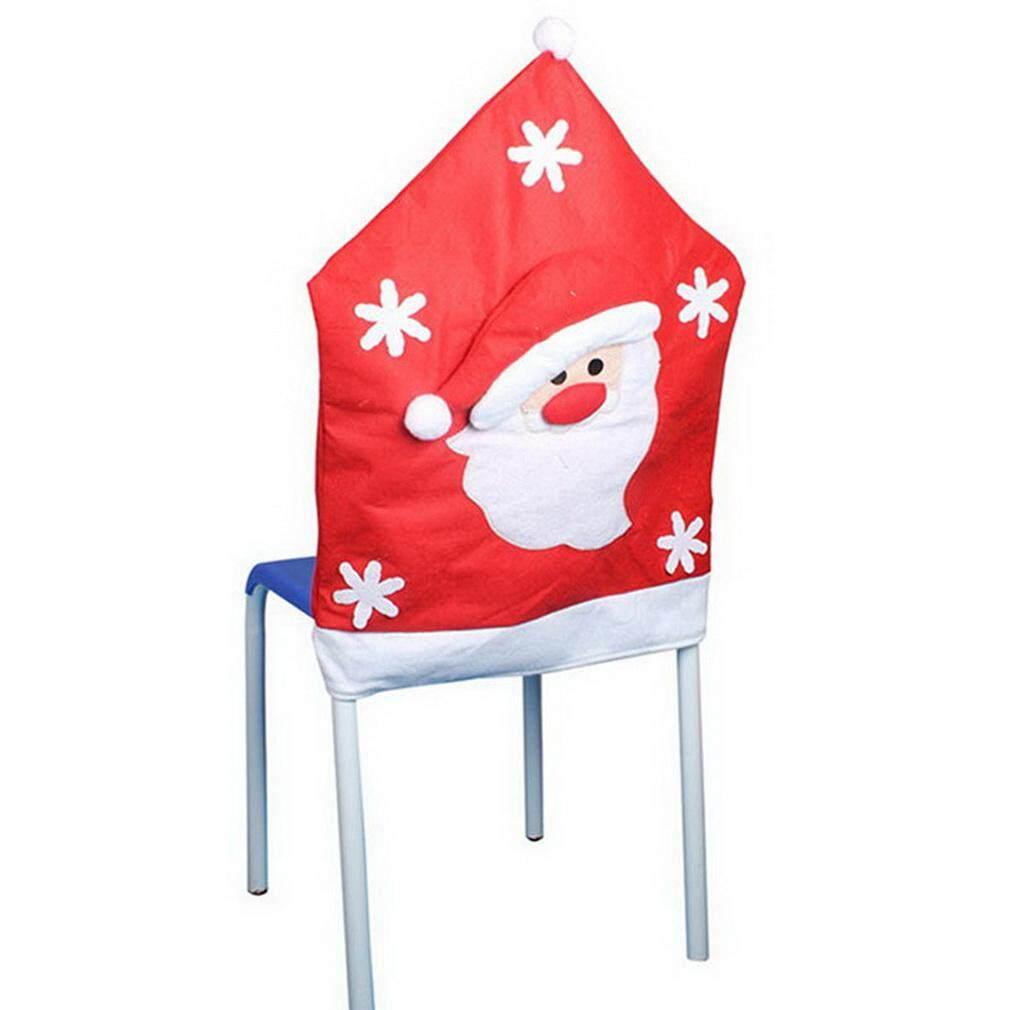 Bigood Natal Santa Indah Topi Berpola Tempat Duduk Kursi Mencakup Santa By Bigood Online.