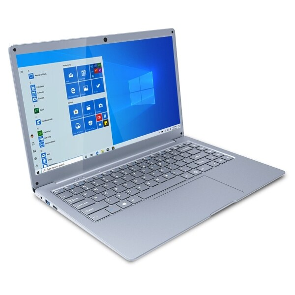 Jumper EZbook S5 Laptop, 14.0 inch, 6GB+64GB, Windows 10 Intel Apollo Lake N3350 Quad Core 1.1-2.4GHz, Support TF Card & Bluetooth & Dual WiFi & Mini HDMI(Silver)