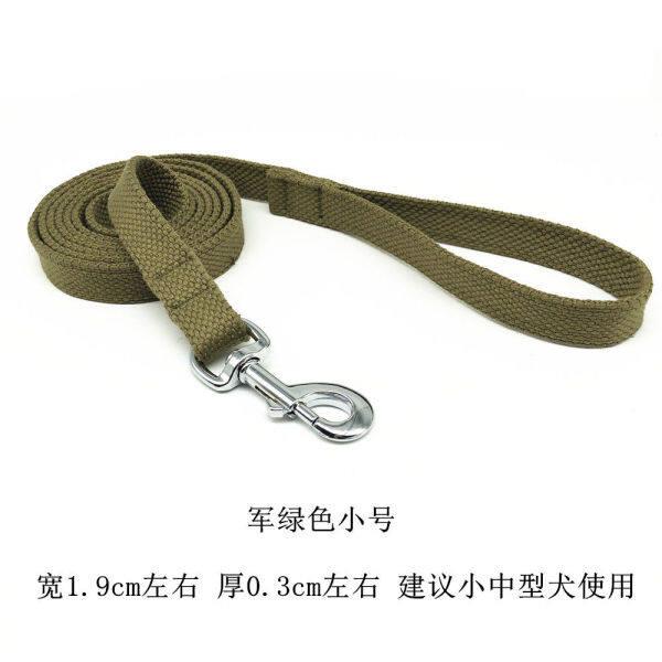 ❖Dây Xích chó bằng bông dây giống chó cỡ trung bình lớn Dây Xích Chó Labrador Vàng dây kéo dài