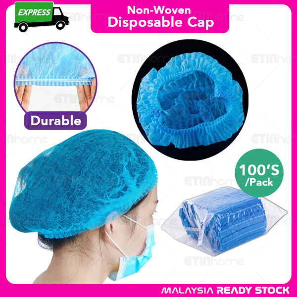 Disposable Hair Cap Shower Caps Elastic Hair Covers Hospital Salon Spa Catering Hair Protect Cover Hotel Shower Cap