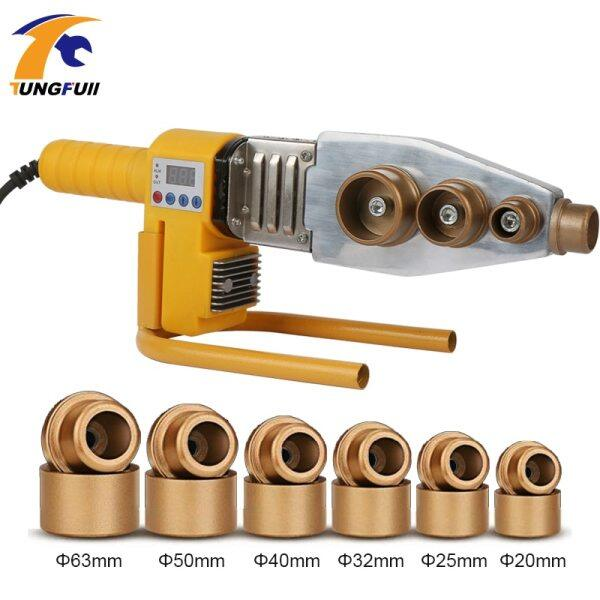1 Set 220V 1000W Φ20-63mm Plastic Pipe Welder PPR Welding Machine Water Pipe Welder for Heating PPR Digital Display