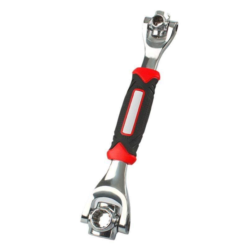 Magnetic Tiger Wrench Car Motorbike Repair Spanner 48-In-1 Multi-Functional Crv Socket Wrench Key