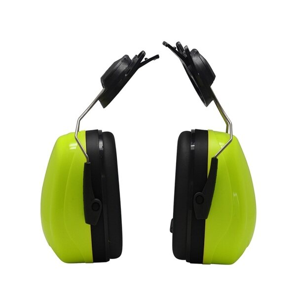 Mounted Earmuff For Safety Helmet