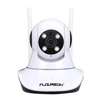 FLOUREON 1080 จุด 2 0MP 1920*1080 ในร่ม IPC WIFI ไร้สาย H 264 PT IR-CUT TF  Micro SD