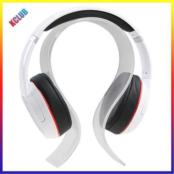 U Shaped Acrylic Headphone Stand Headset Earphone Holder Hanger Mount Rack Singapore
