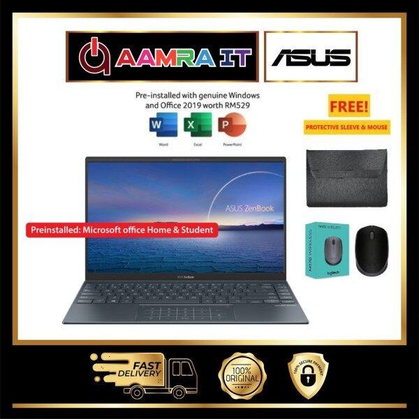 Asus ZenBook Laptop UX425J-AB689TS - 14 (i7-1065G7, 8GB, 512GB, Intel, W10H, Off H&S) Malaysia