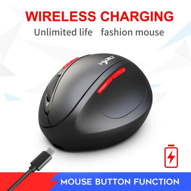 2.4G Wireless Mouse Silent Ergonomic Gaming Mouse for Laptop Computer