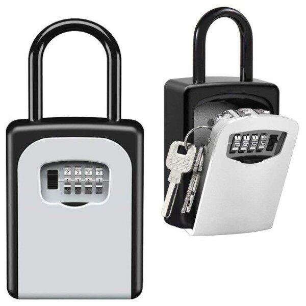 [READY STOCK] TOPFINE Hanging Key Safe Box Key Storage Box Key Box Key Lock Box Wall Mounted Portable Lock Box