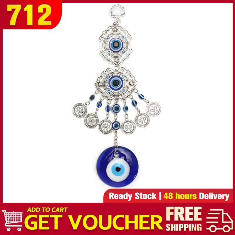 【Free Shipping】Turkish Blue Glass Evil Eye Amulet Wall Hanging Home  Decoration Lucky Protection
