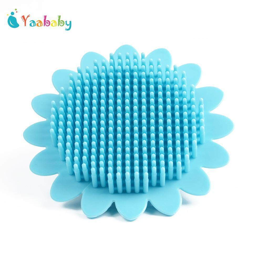 Yaababy Baby Bath Brushes Shower Wash Silicone Cleaning Body By Yaababy.