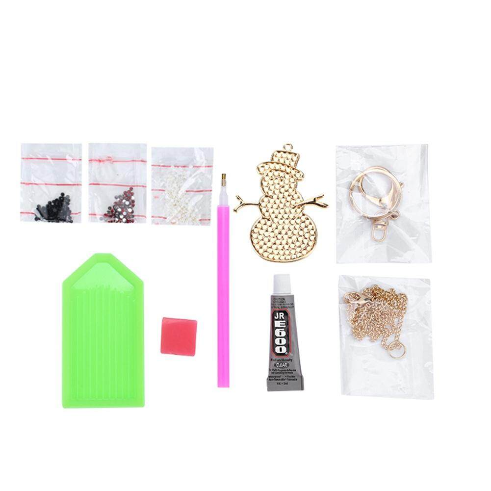[ultra-low price] Snowman - shape DIY Girls Jewelry Making Kit Necklace Pendant and Bracelet Crafting Set Party