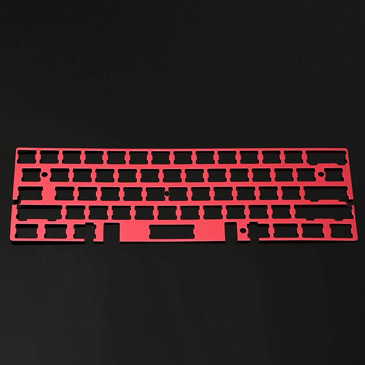 Aluminum Board Plate Universal Frame Mechanical Keyboard for GH60 11.4x3.9 Red Malaysia