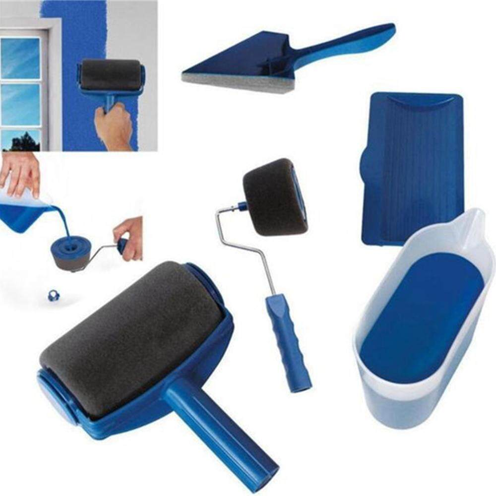 Aolvo 7 Pcs Pro Roller Brush Handle Tool Office Room Wall Painting Home Decoration Roller Paint Brush Set By Aolvo.