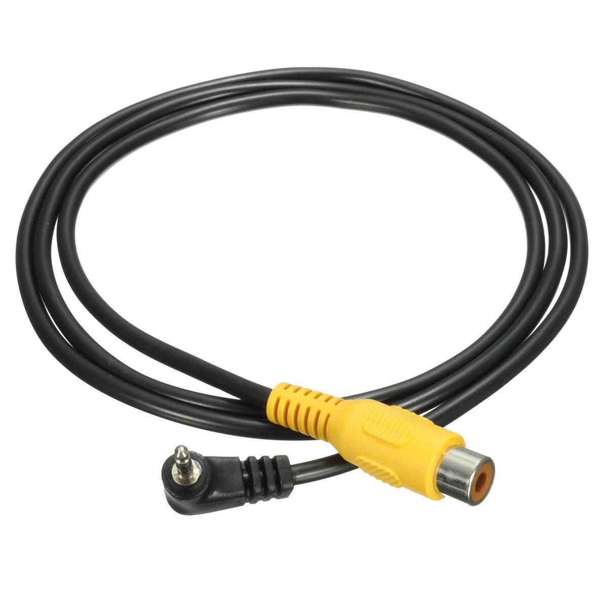 LEORY 2.5 MM Stereo Nam Cắm RCA Adapter Cáp Cho GPS AV-Trong Bộ Chuyển Đổi Đen Video