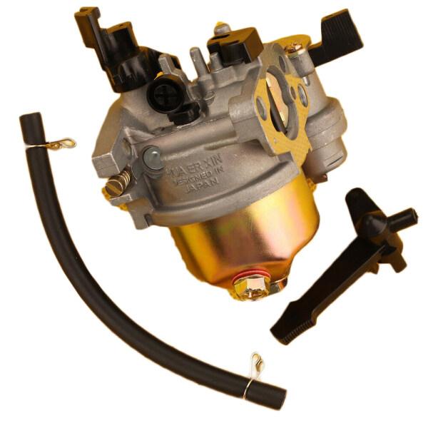Valuđặc 3 Chiếc Bộ Chế Hòa Khí Máy Cắt Cỏ Thay Thế W/Bộ Khung Đỡ Ống Dẫn Nhiên Liệu Cho Honda GX160 5.5 HP GX200