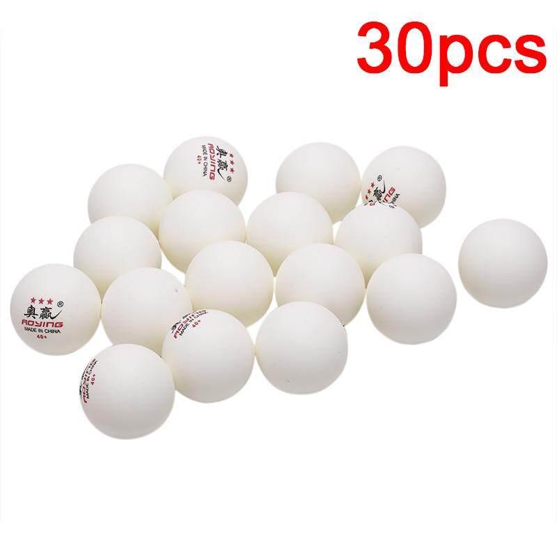 Zozo 30 Pcs 3 ดาว 40 มม. 2.8g ลูกปิงปองสีขาวสีเหลืองปิงปองการฝึกอบรมสีเหลือง By Zozo Store.