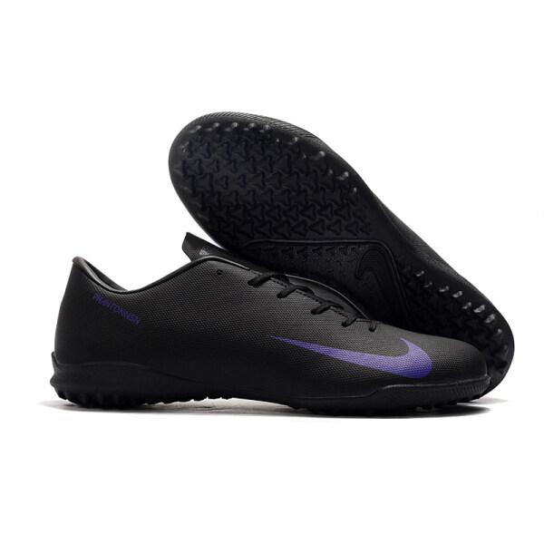 Giày Đinh Futsal Chuyên Nghiệp Cho Nam, Giày Đá Banh Phantom VSN FG, Giày Tập Luyện Chính Hãng, Màu Đen Tím