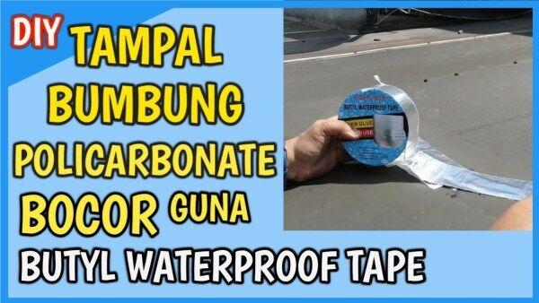 TAMPAL BUMBUNG POLICARBONATE BOCOR GUNA DIY 50MM X5M