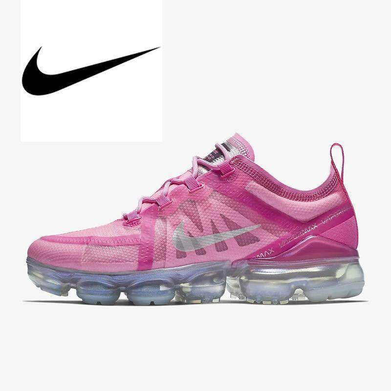 38e4bbf4571 Original Nike Air VaporMax 2019 Women s Running Shoes Outdoor Sneakers New  Arrival Jogging Athletic Designer Footwear
