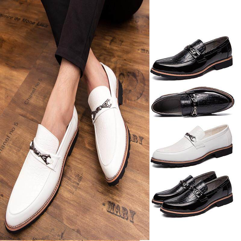 887ad189b838 Fashion Men s Wedding Retro Leather Shoes Business Formal Shoes for Men  Office Shoes
