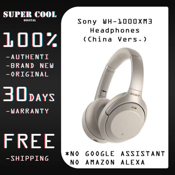 Sony WH-1000XM3 Noise Cancelling Wireless Bluetooth Headphones (China Vers.) Singapore