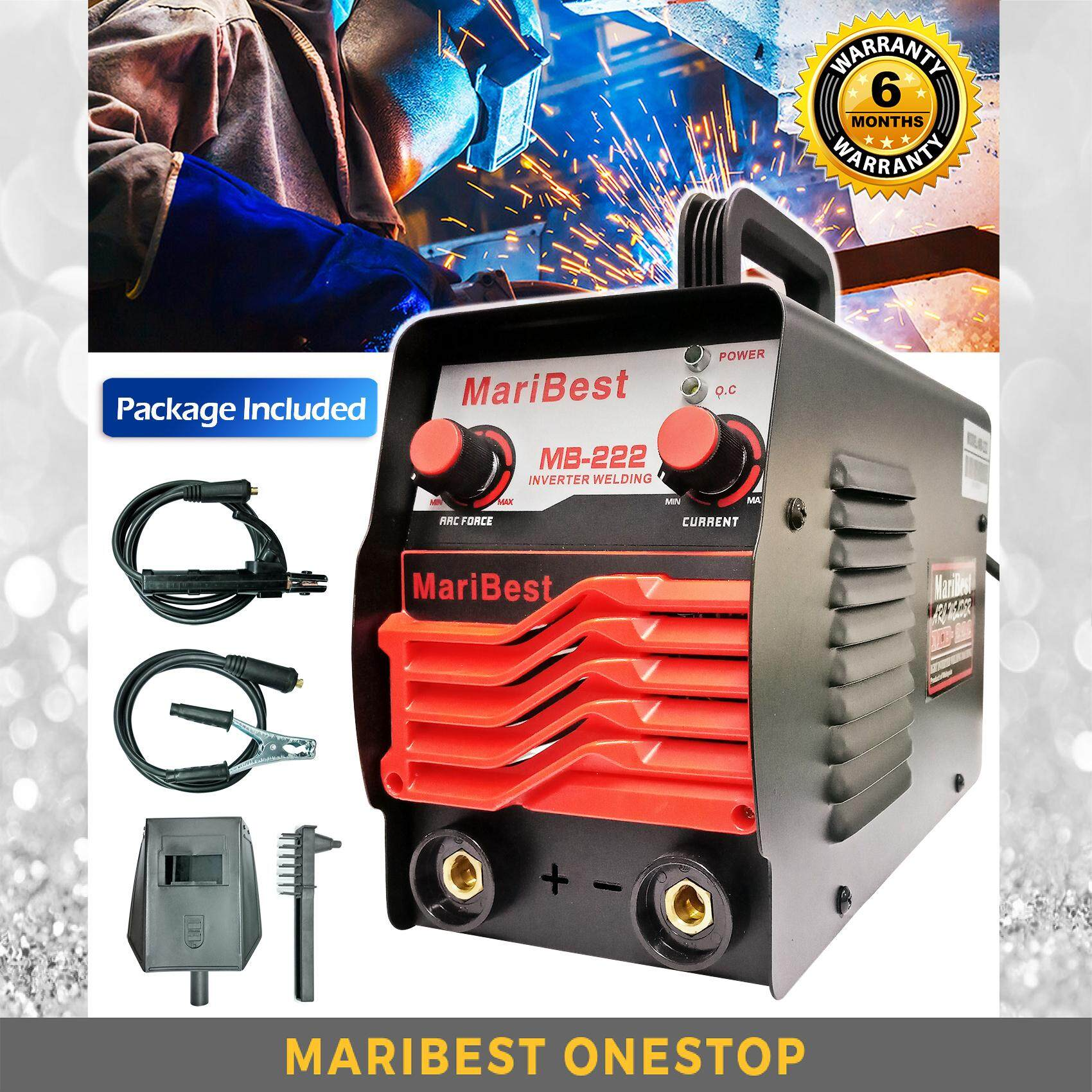 MARIBEST INVERTER WELDING MACHINE ARC WELDING MB-222