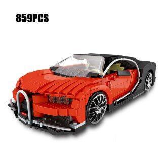 Khối Mô Hình Lắp Ráp Xe Bugatti Veyron MOC Siêu Thể Thao Kỹ Thuật Mới 859 Cái, Bộ Sưu Tập Đồ Chơi Giáo Dục Cho Bé Trai thumbnail