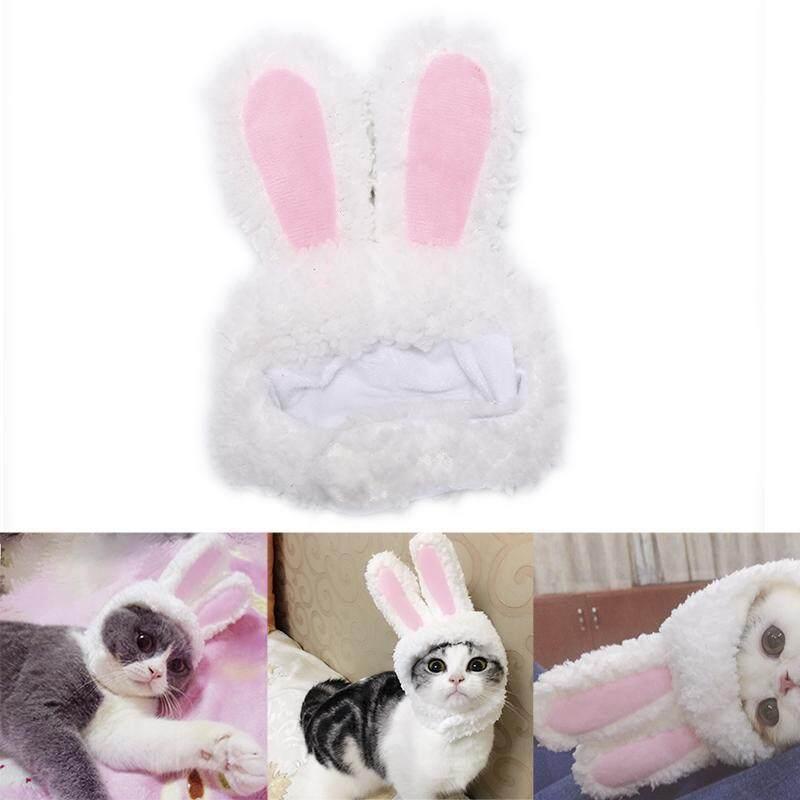 SHENGHAN Mèo Thỏ nón tai thỏ mèo cưng trang phục hóa trang cho mèo con chó nhỏ Đảng
