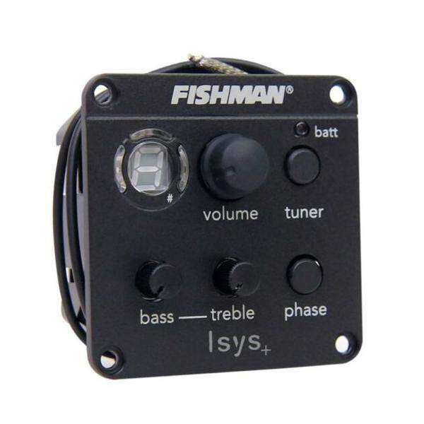 Fishman ISYS+ Equalizer Acoustic Guitar Pickup Preamp EQ Tuner Piezo Pickup