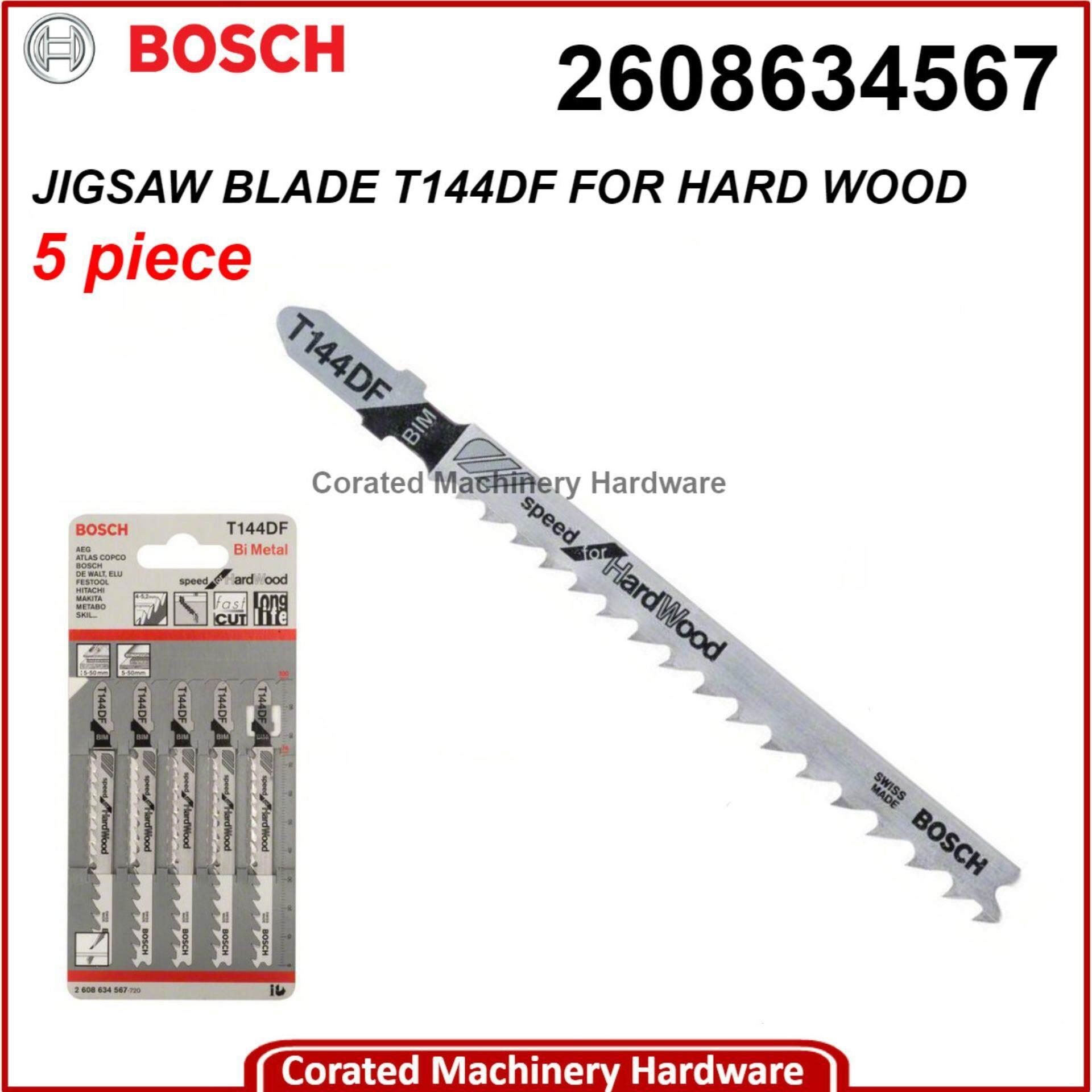 Bosch 2608634567 T144DF Jigsaw Blades PK-5