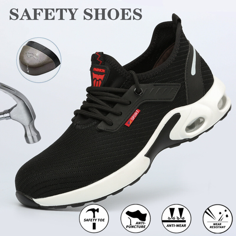 Breathable Safety Shoes for Men Steel