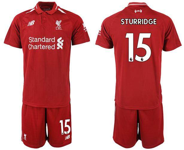 f942d4745 New Balancē Official Premier League Liverpool Football Club #15 Home 2018-19  Season Men